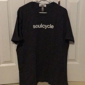 SoulCycle men's grey t-shirt sz XL 56887